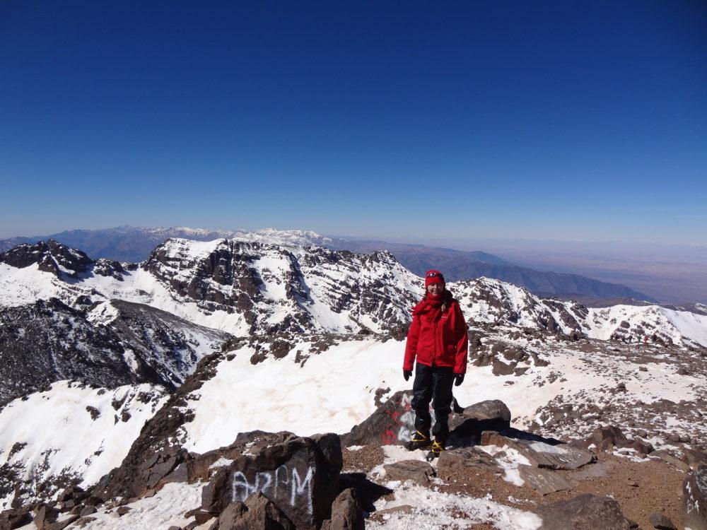 Mt Toubkal, Morocco