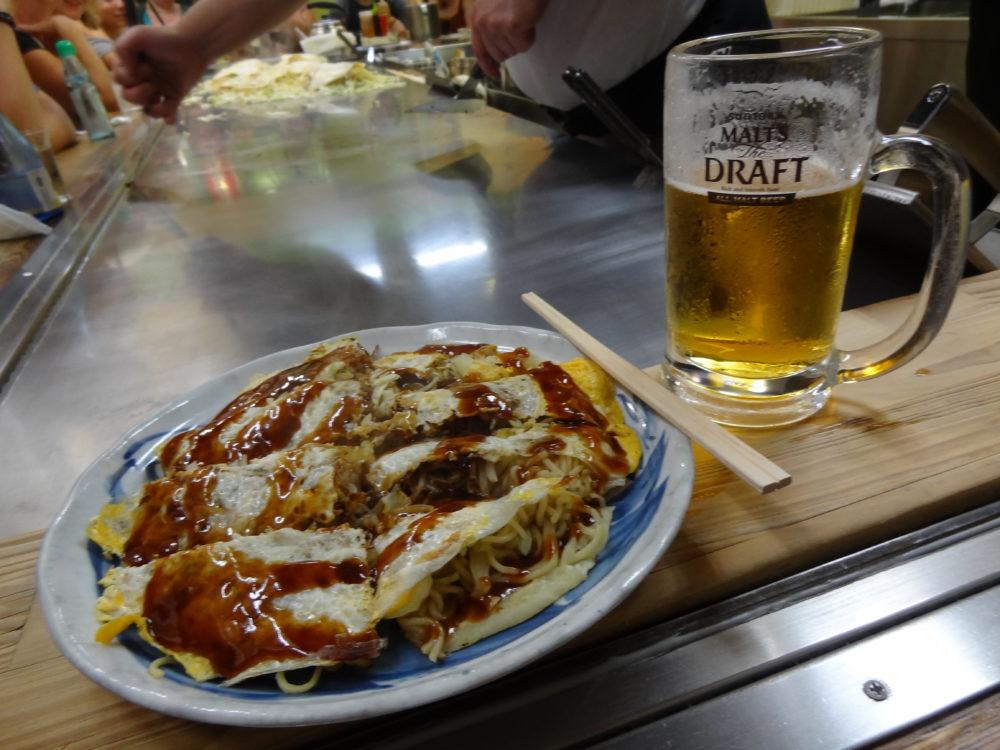 Okonomiyaki, Hiroshima-style