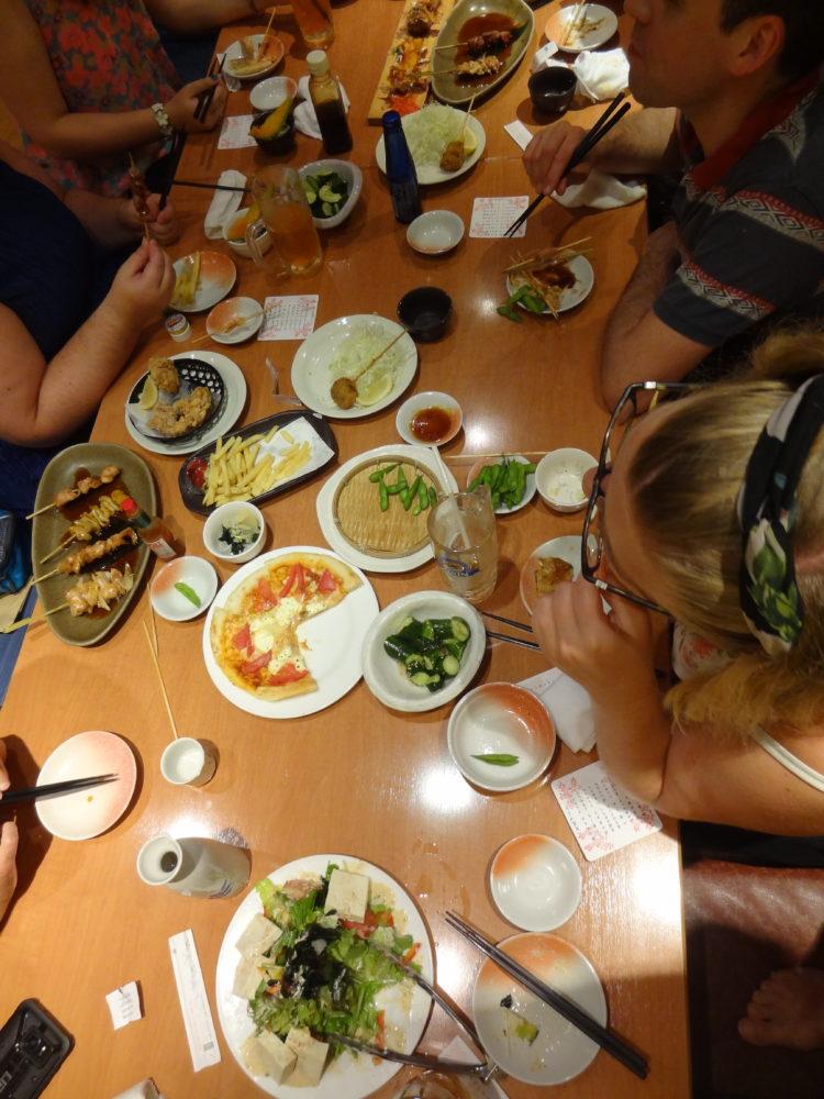 Izakaya Dinner, Tokyo