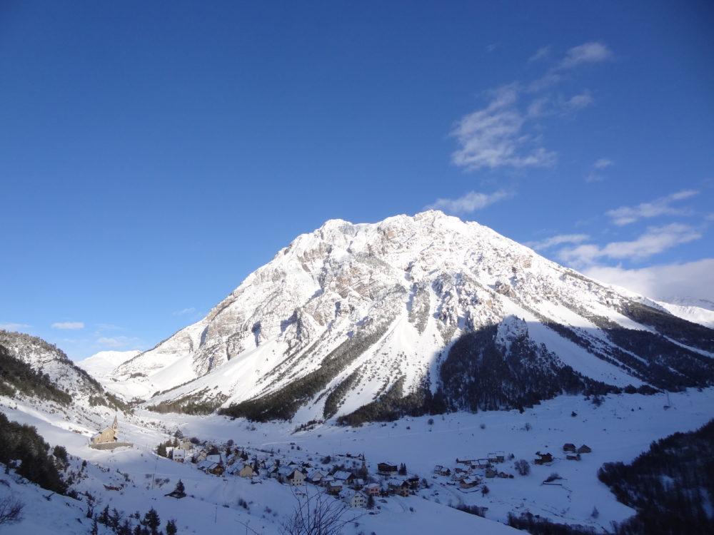 Lasseron (2703 m) & Cervières, from L'Alp du Pied