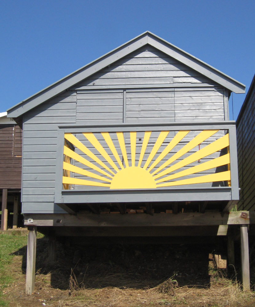 Beach hut, Walton on the Naze (2010)