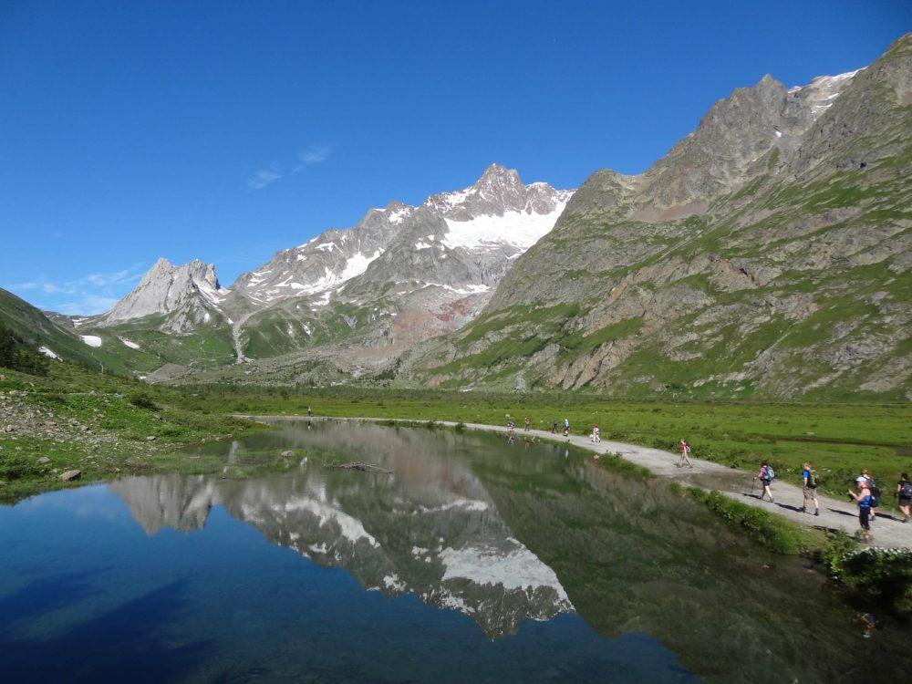 Tour du Mont Blanc - En route to Rifugio Elisabetta, Val Veny