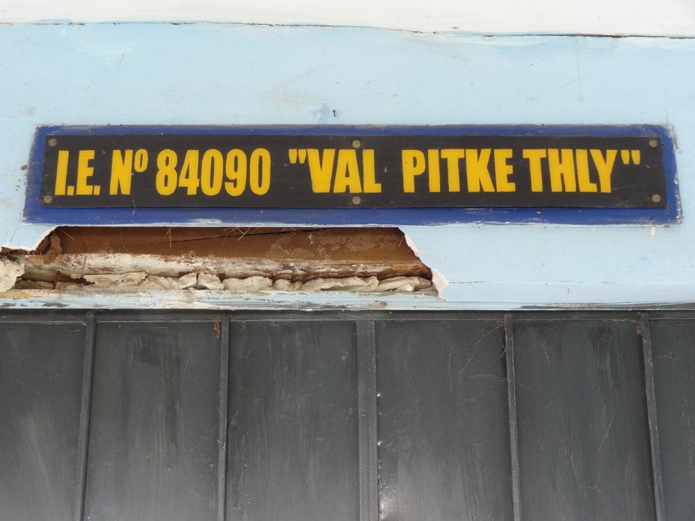 Peru 2014 - Val Pitkethly School, Quishuar