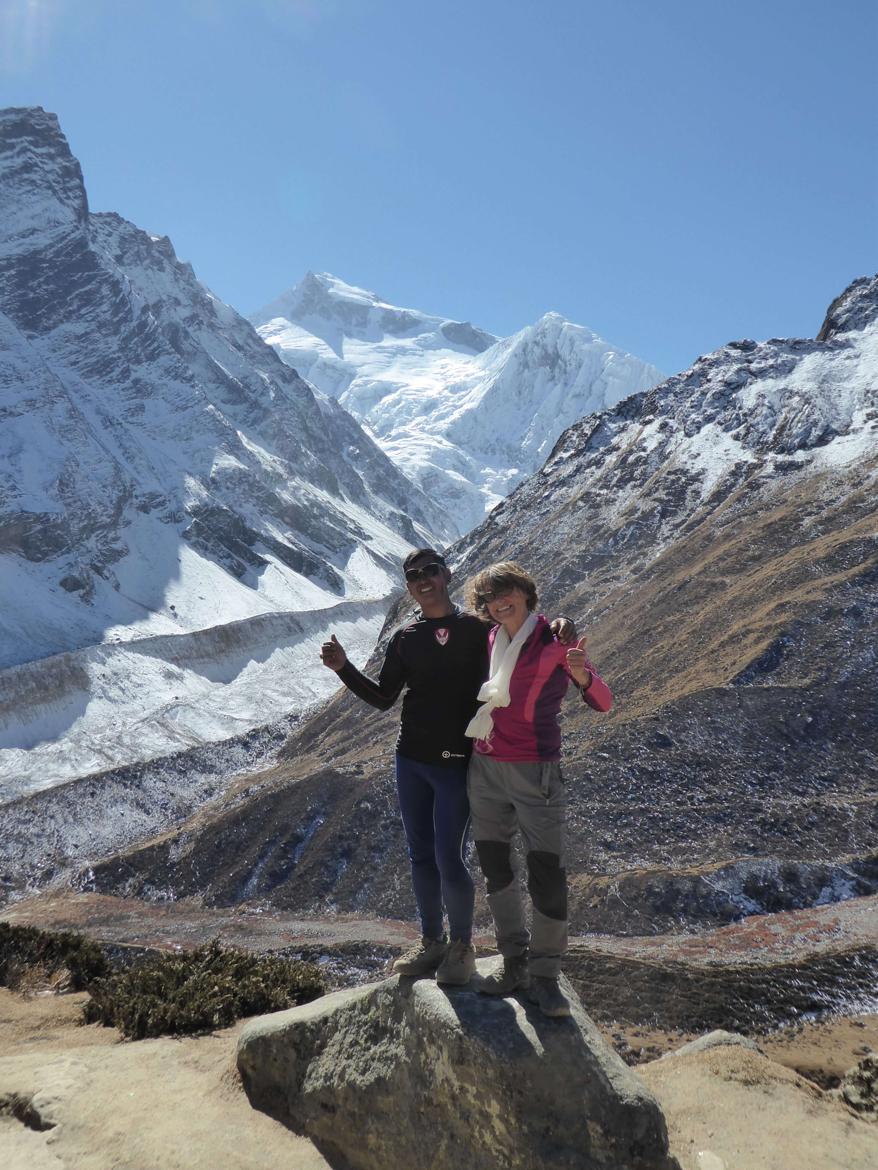 Chhering, Val and Manaslu. On the trail to Dharamsala.