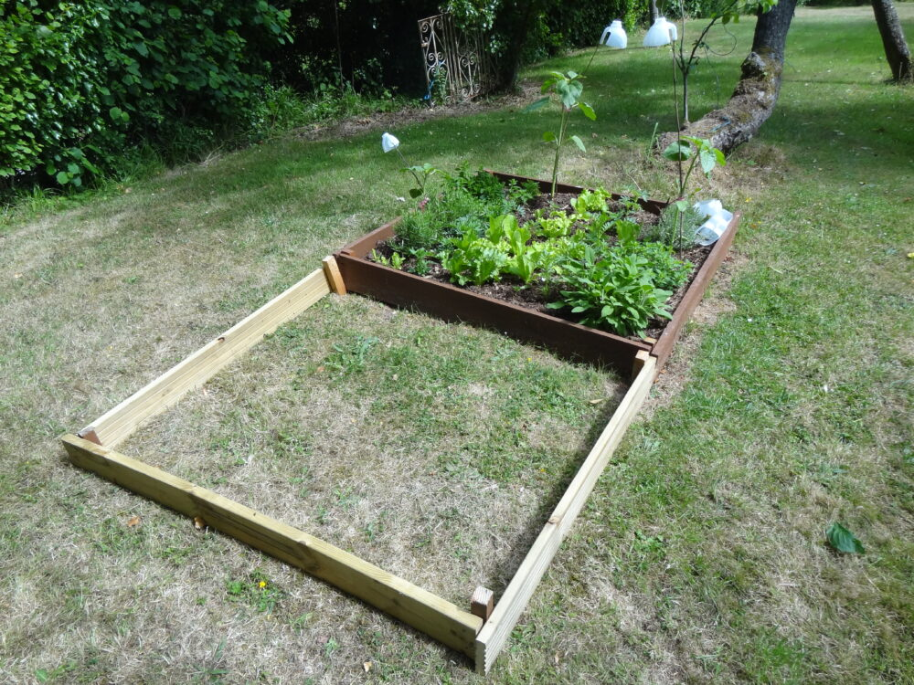 Herb Bed Extension - Stage 1