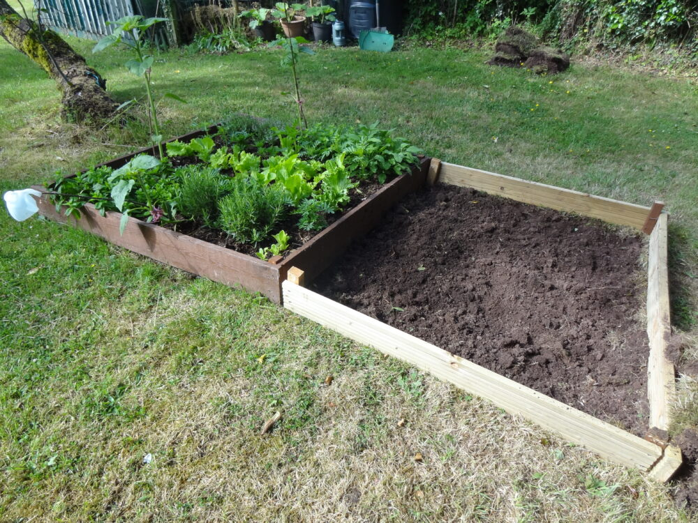 Herb Bed Extension - Stage 2